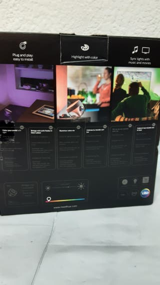 Lampara mesa inteligente Philips Hue Iris