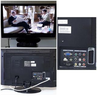 "MONITOR LCD + TV DIGITAL 23"""