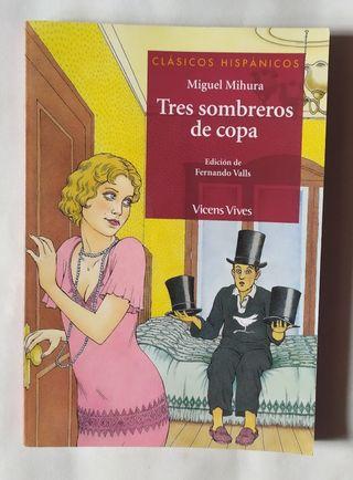 Libro Tres Sombreros de Copa.