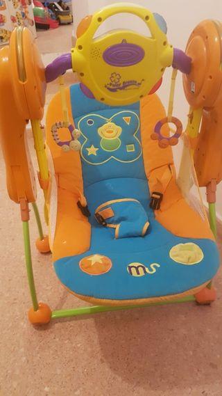 hamaca de bebe con motor