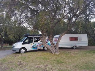 Transit camper y caravana roller