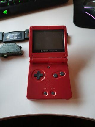 Gameboy Advance SP(Contiene una edicion Tribal)