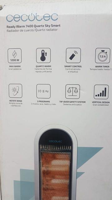 Calefactor Cecotec 7400 Ready Warm Quartz