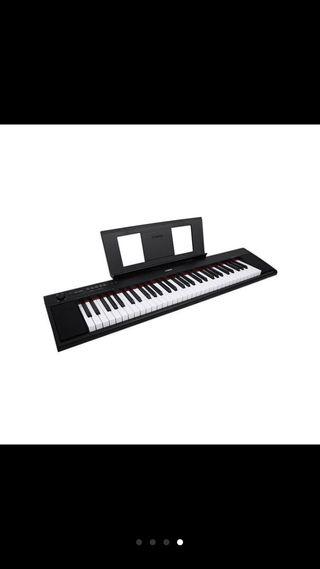 Piano teclat np12 Piaggero Yamaha