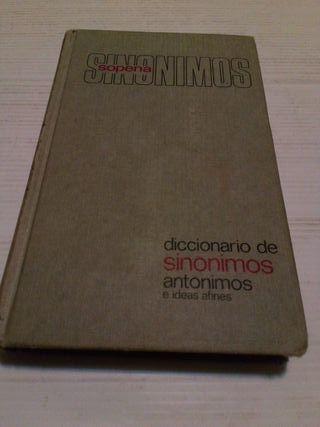 Diccionario de Sinónimos y Antónimos SOPENA