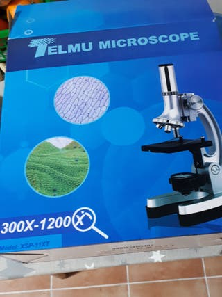 Microscopio Telmu 300-1200x