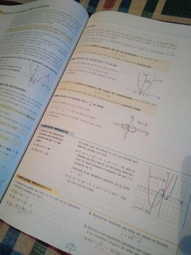 Matemáticas CCSS 1°Bachillerato