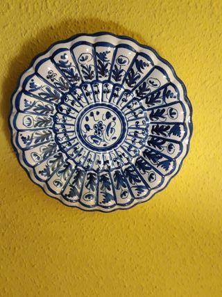plato ceramica talavera