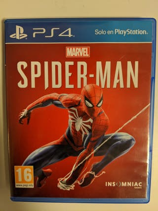 JUEGO PS4 SPIDERMAN