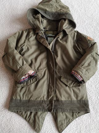 Parka niña Scotch & Soda. talla 6