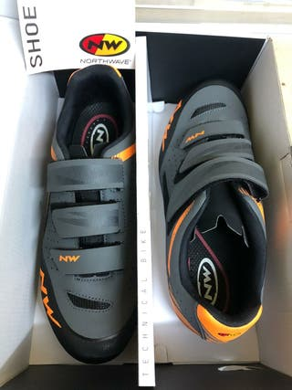 Zapatillas ciclismo northwave talla 42