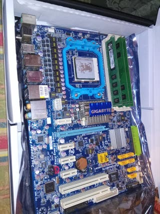 Memoria ram DDR3 + Placa + Procesador Quad core.