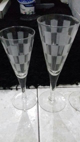 SOLO HOY! 12 copas champán 7€