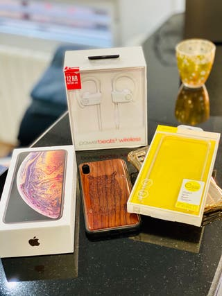 iPhone XS Max 256gb (24/7/19)+ REGALO POWERBEATS 3