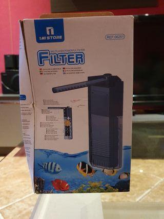 filtro para peces sin usar