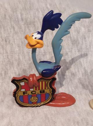 Colección muñecos del Barça de la Warner Bros