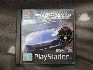 Juego Porsche 2000 PS1 psx