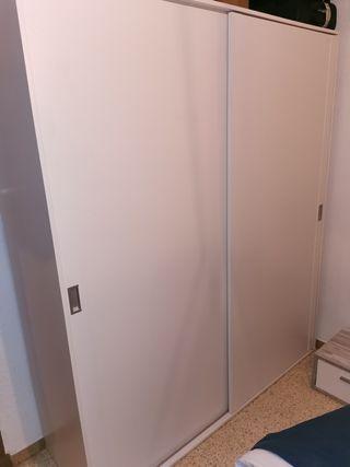 armario dos puertas correderas