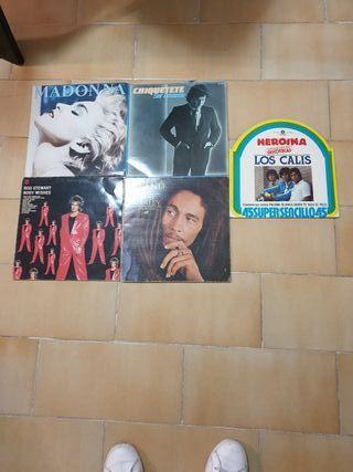 vinilos varios LP, 15€/unidad