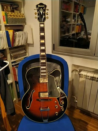 Guitarra electrica de Jazz Ibanez AFJ 95