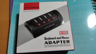 Adaptador de teclado y mouse Switch / PS4 / Xbox O