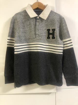 Polo Tommy Hilfiger gris