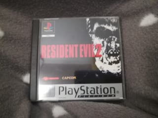 Juego Resident Evil 2 PS1 psx