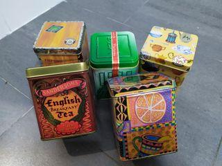 Cajitas para el té o especias