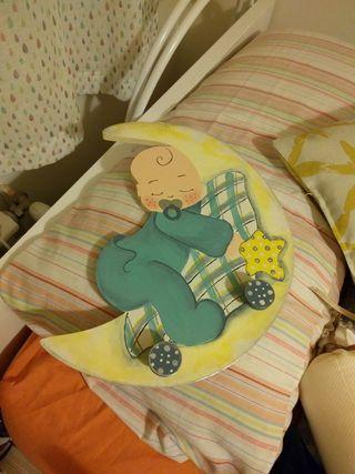 Perchero dormitorio bebe