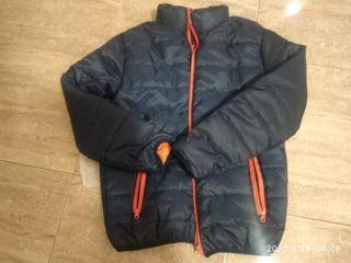 Abrigo polar azul