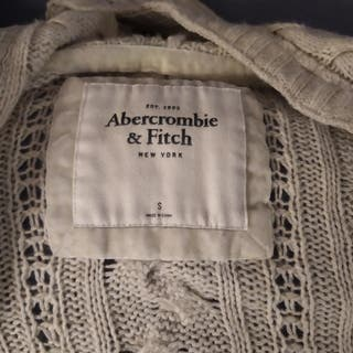 preciosa chaqueta de punto de abercrombie