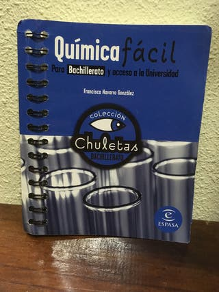 Química fácil para Bachillerato y Selectividad