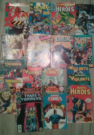 Lote de comics