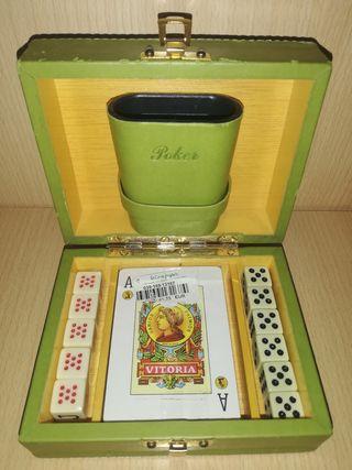 Caja de póker fournier para coleccionismo