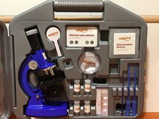 Microscopio Deluxe Eduland (Corte Inglés), 8 años