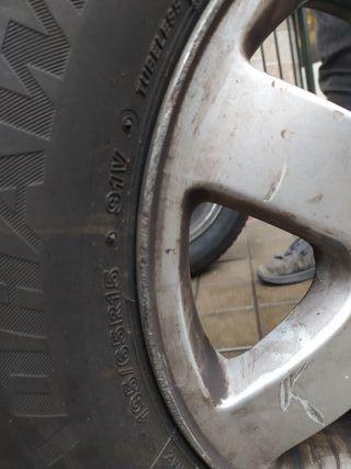 2 ruedas delanteras firestone