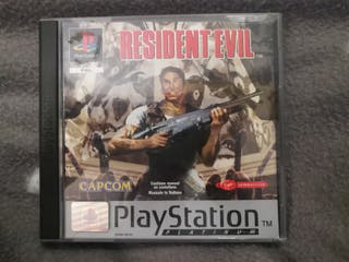 Juego Resident Evil PS1 psx