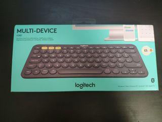 Teclado inalámbrico Logitech K380