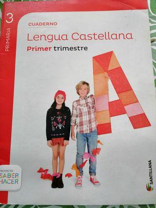 pack 7 libros de lengua 3° primaria santillana