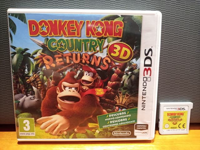 Videojuego DONKEY KONG COUNTRY RETURNS 3DS/2DS