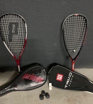 Raquetas de Squash , muy buen estado