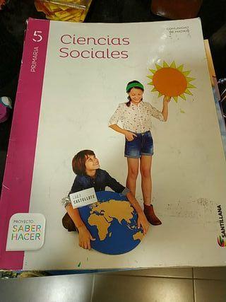 libros de sociales 3° primaria Santillana