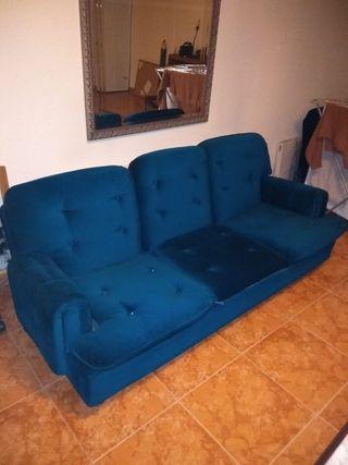 sofá vintage y sillón