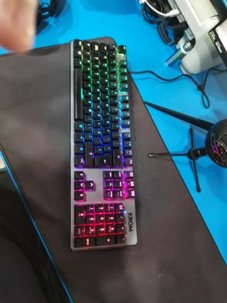Teclado mecánico Krom Kernel Switches Red (Outemu)
