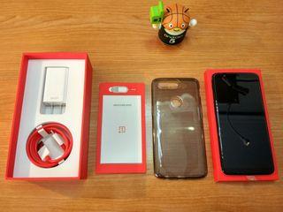 Oneplus 5T 64gb con caja y accesorios