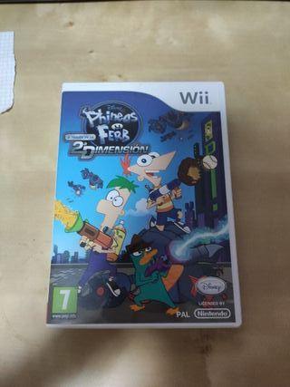 Phineas y Ferb A Través De La 2 Dimensión