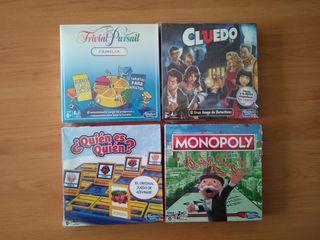 Juegos de mesa clásicos formato viaje