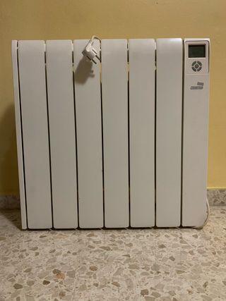 Emisor térmico bajo consumo calor azul