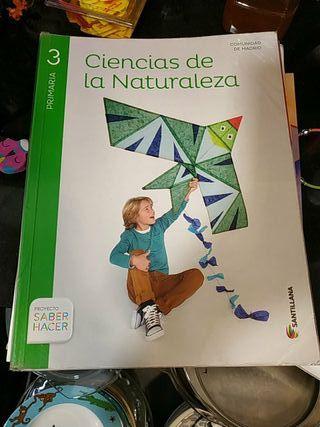 libros 3° primaria c. de la naturaleza Santillana