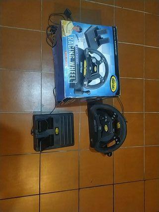 pedales y volante para PlayStation